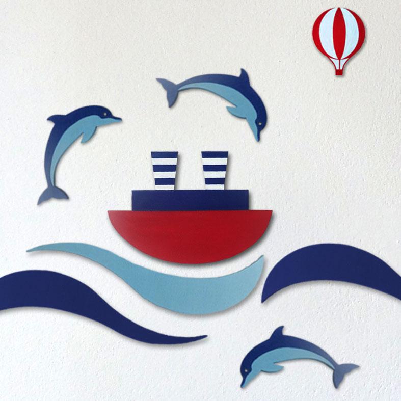 dekorace námořnické